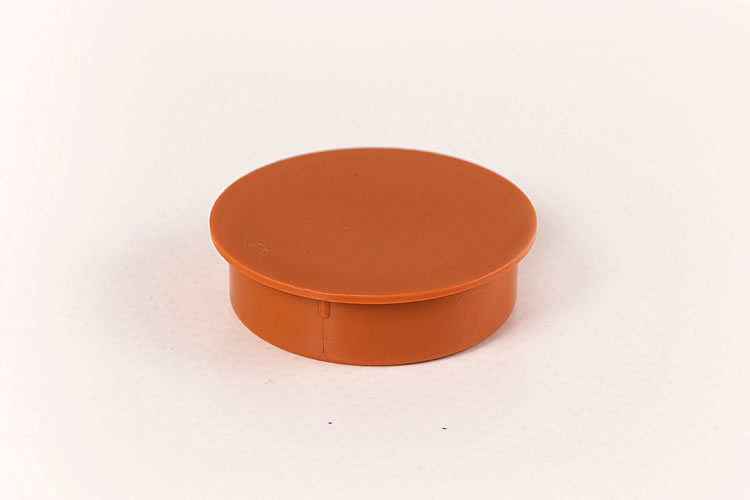 Cherry Hinge Hole Cap